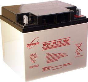 GENESIS Genesis - 12V 38Ah - zárt savas akkumulátor