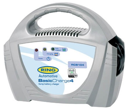 Ring Akkumulátor töltő - 12v 4A
