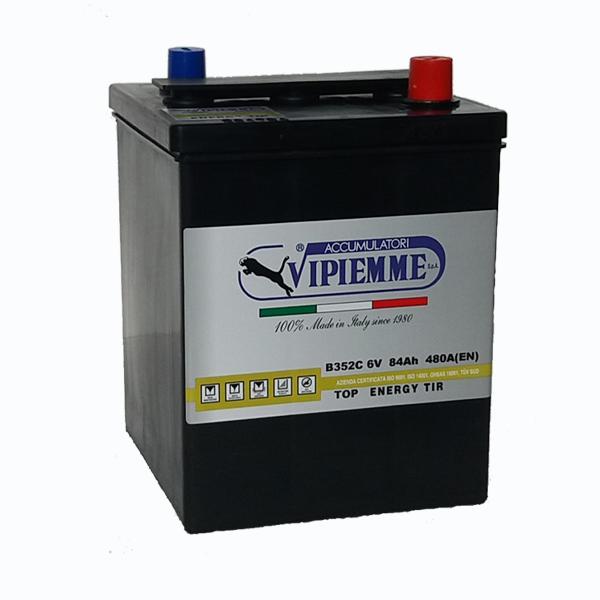 Vipiemme Top Energy 6V 77 Ah akkumulátor