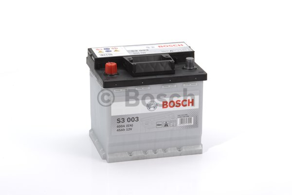 BOSCH Bosch S3 - 12v 45ah - autó akkumulátor - bal+