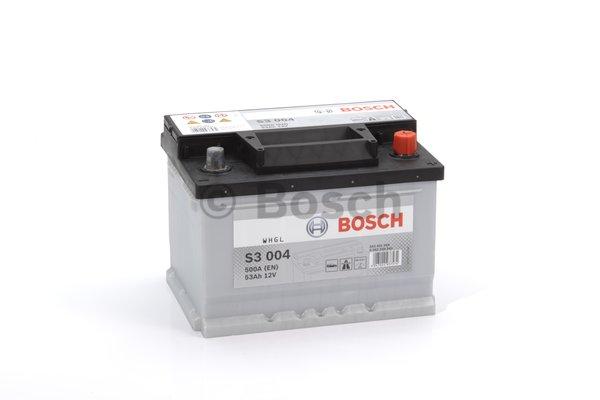 BOSCH Bosch S3 - 12v 53ah - autó akkumulátor - jobb+ *alacsony