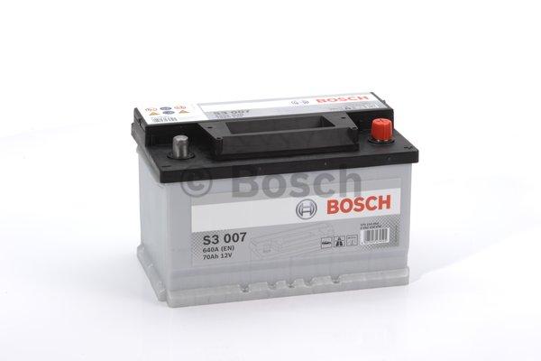 BOSCH Bosch S3 - 12v 70ah - autó akkumulátor - jobb+ *alacsony