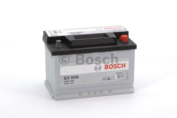 BOSCH Bosch S3 - 12v 70ah - autó akkumulátor - jobb+
