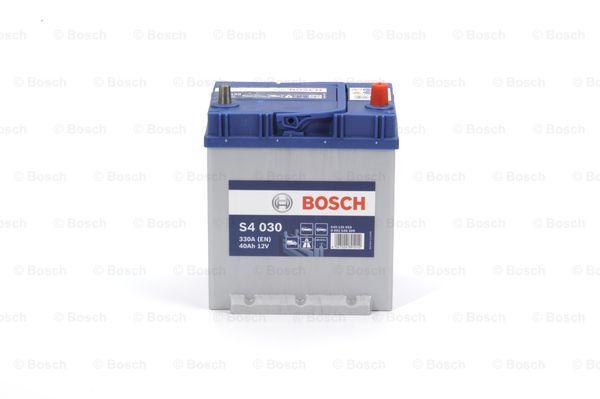 BOSCH Bosch S4 - 12v 40 ah - autó akkumulátor - jobb+ *ázsia