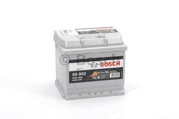 BOSCH Bosch S5 - 12v 54ah - autó akkumulátor - jobb+
