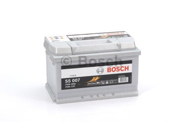 BOSCH Bosch S5 - 12v 74ah - autó akkumulátor - jobb+ *alacsony