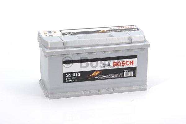 BOSCH Bosch S5 - 12v 100ah - autó akkumulátor - jobb+