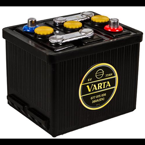 VARTA Varta - 6v 77ah - klasszik autó akkumulátor