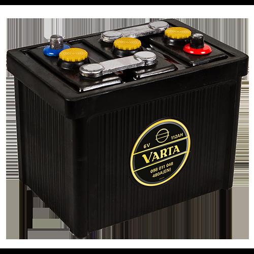 VARTA Varta - 6v 112ah - klasszik autó akkumulátor