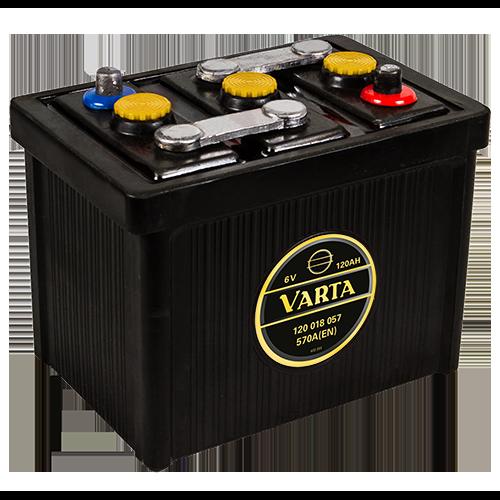 VARTA Varta - 6v 120ah - klasszik autó akkumulátor