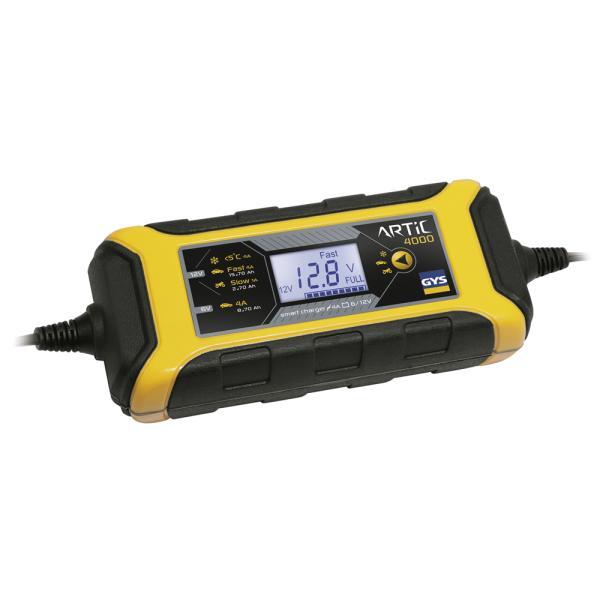 GYS Akkumulátor töltő - 6/12V 4A ARTIC 4000