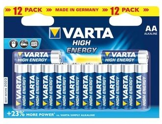 VARTA Elem AA 12db High Energy ceruza (LongLife Power)