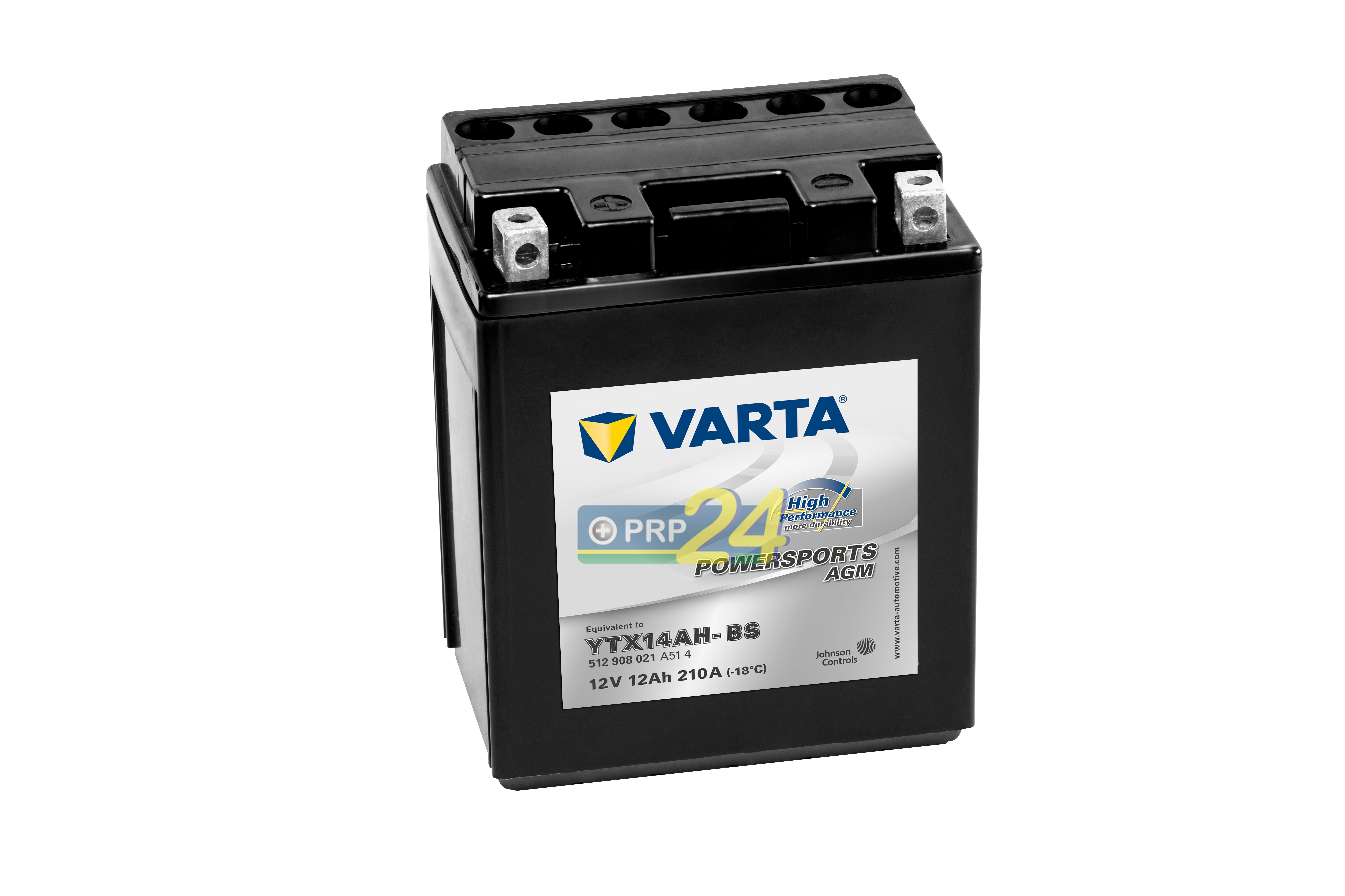 VARTA Varta - 12v 12ah - AGM motor akkumulátor * YTX14AH-BS