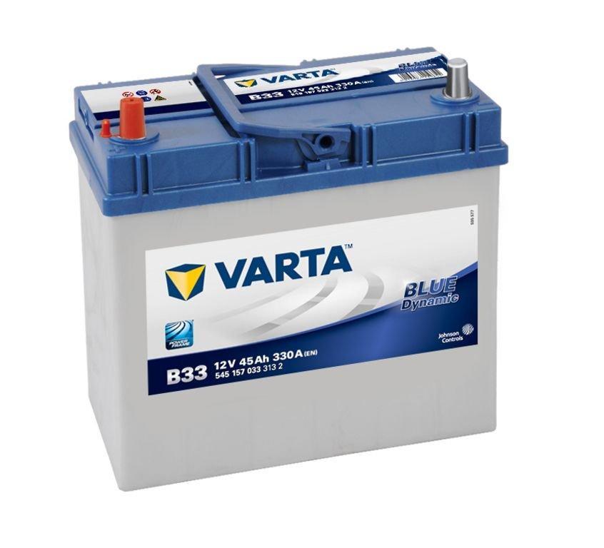 VARTA Varta Blue - 12v 45ah - autó akkumulátor - bal+ *ázsia *vékonysarus