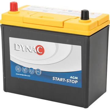 Dynac DYNAC Start-Stop AGM - 12v 45ah - autó akkumulátor - Bal+