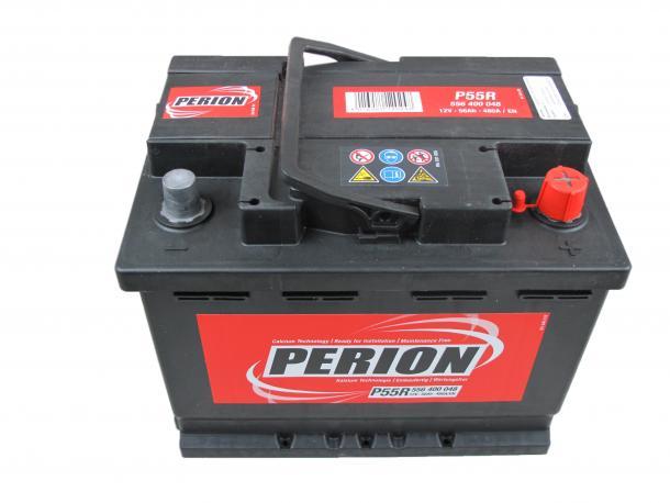 PERION Perion - 12v 56ah - autó akkumulátor - jobb+