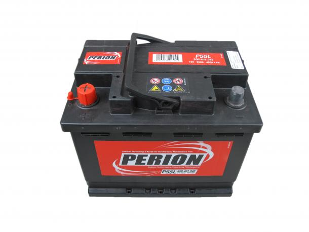 PERION Perion - 12v 56ah - autó akkumulátor - bal+