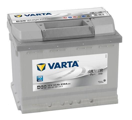 VARTA Varta Silver - 12v 63ah - autó akkumulátor - bal+