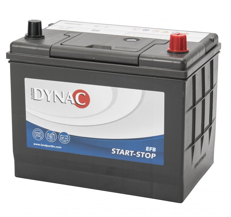 Dynac DYNAC Start-Stop EFB - 12v 68ah - autó akkumulátor - jobb+