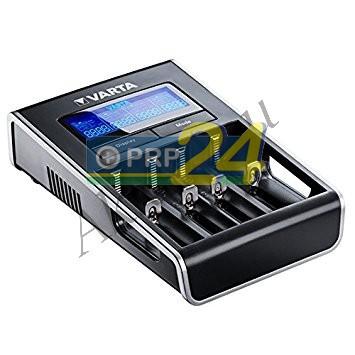 VARTA Elem akkumulátor töltő - LCD Dual Tech töltő (Li-Ion/NiMH) akku nélkül