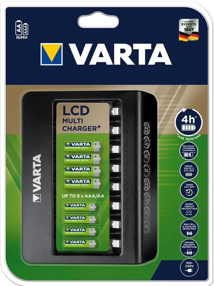 VARTA Elem akkumulátor töltő - LCD Multi akku nélkül