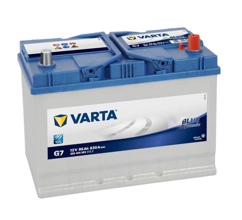 VARTA Varta Blue - 12v 95ah - autó akkumulátor - jobb+ *ázsia