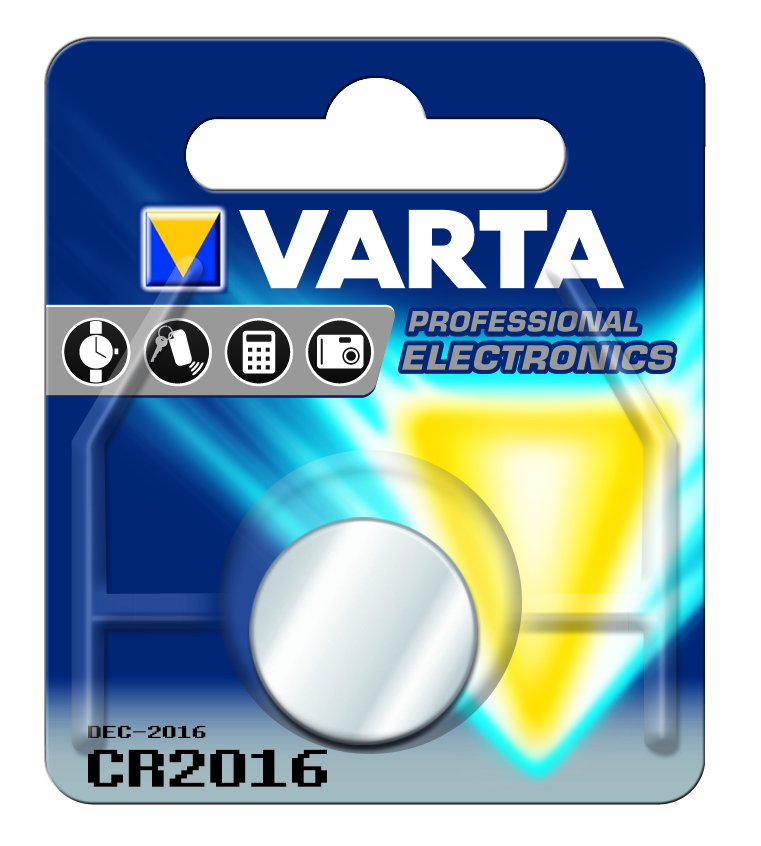 VARTA Elem fotó és kalkulátorelem CR2016