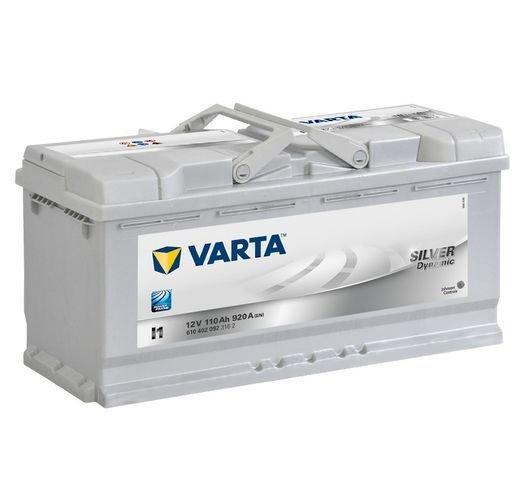 VARTA Varta Silver - 12v 110ah - autó akkumulátor - jobb+