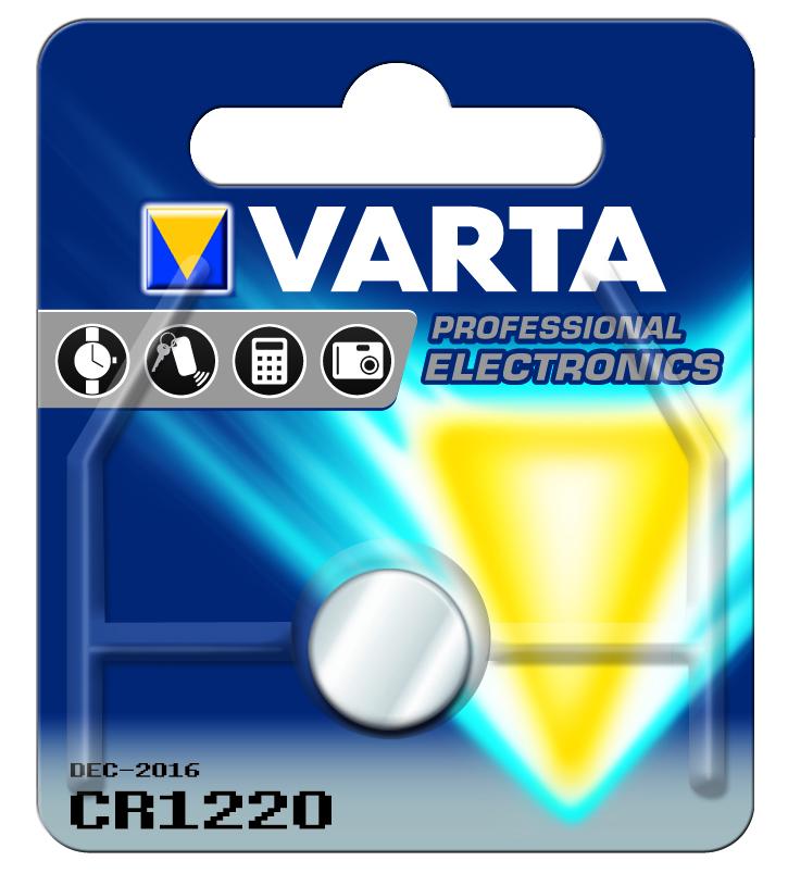 VARTA Elem fotó és kalkulátorelem CR1220