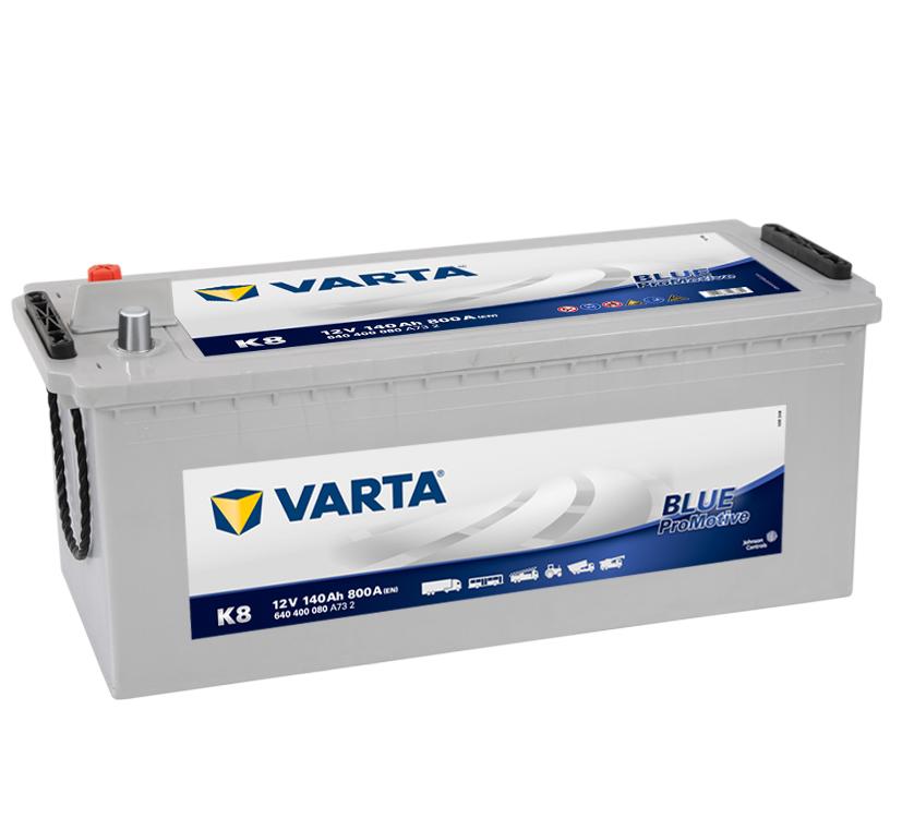 VARTA Varta Promotive Blue - 12v 140ah - teherautó akkumulátor *talpas