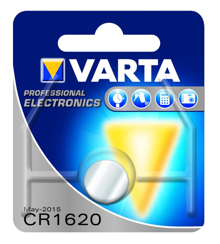VARTA Elem fotó és kalkulátorelem CR1620