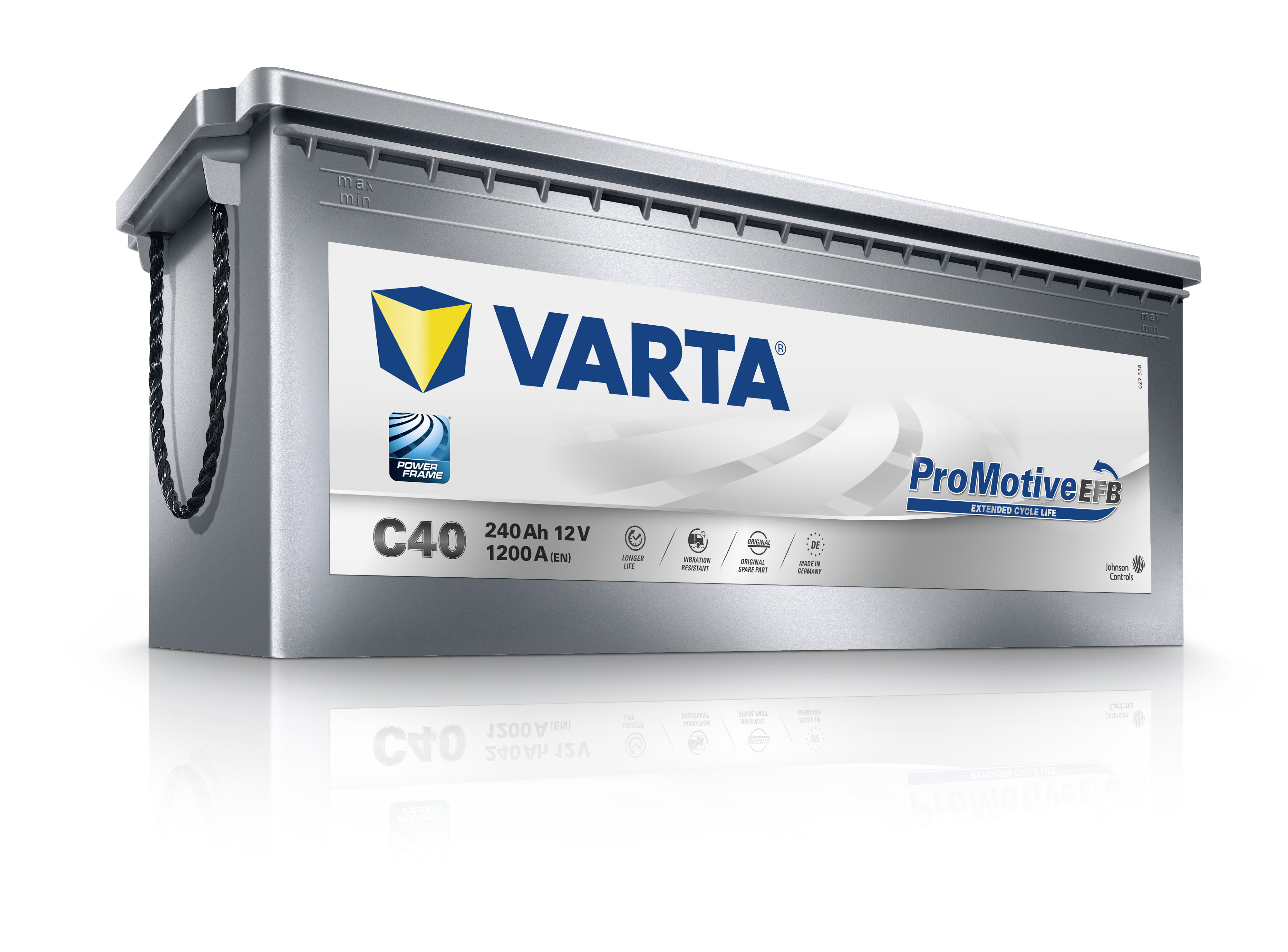 VARTA Varta Promotive Silver EFB - 12v 240ah - teherautó akkumulátor