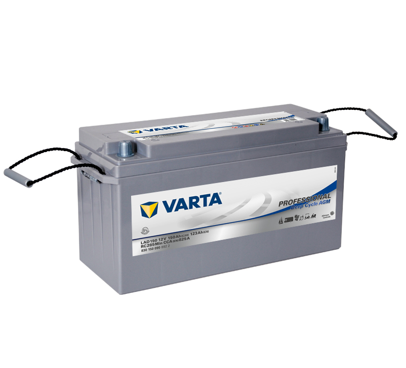VARTA Varta Professional Deep Cycle AGM - 12v 150ah -  meghajtó akkumulátor - jobb+