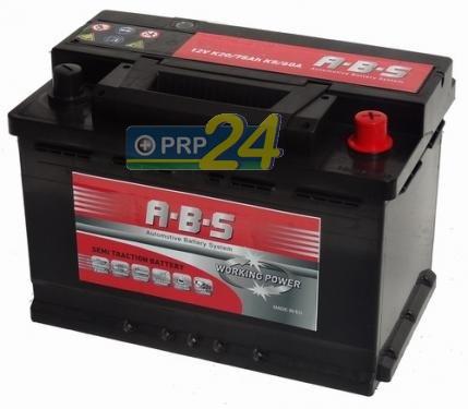 ABS ABS Working Power - 12v 90ah -  meghajtó akkumulátor - jobb+