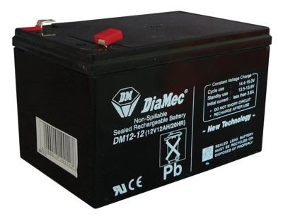 Diamec Diamec - 12V 12Ah - zárt savas akkumulátor