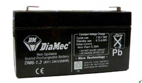 Diamec Diamec - 6V 1,3Ah - zárt savas akkumulátor