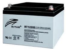 RITAR RT - 12V 26Ah - zárt savas akkumulátor  - ciklikus