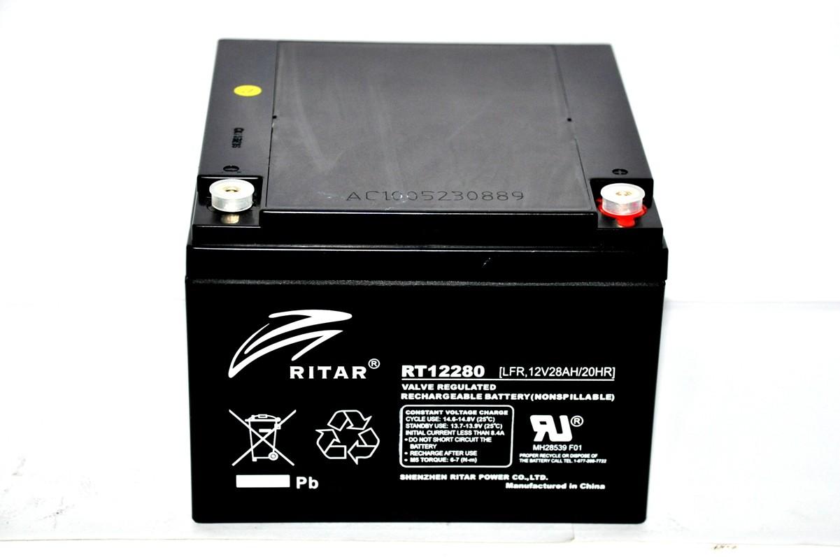 RITAR RT - 12V 28Ah - zárt savas akkumulátor