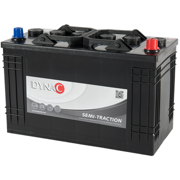 Dynac DYNAC - 12v 105Ah -  meghajtó akkumulátor - jobb+